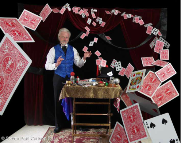 Master Magician, Steven Paul Carlson